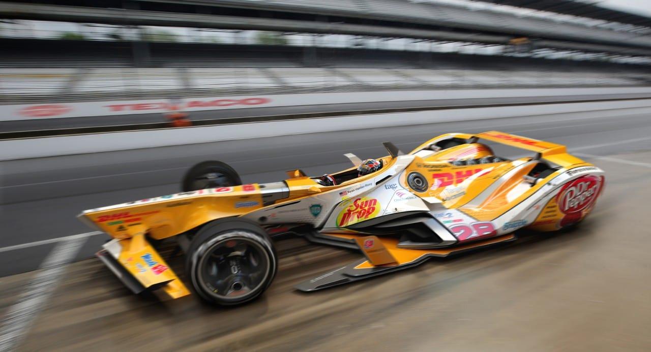 Semi Closed Canopy IndyCar