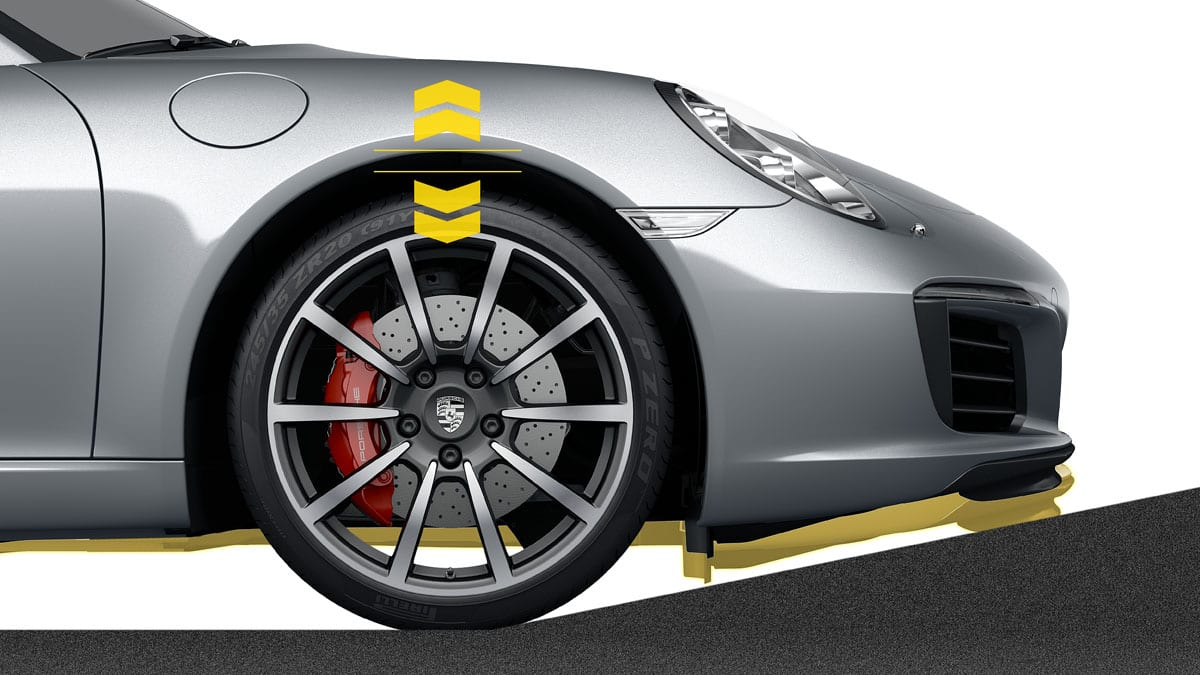 Porsche 911 Carrera Front-axle Lift System