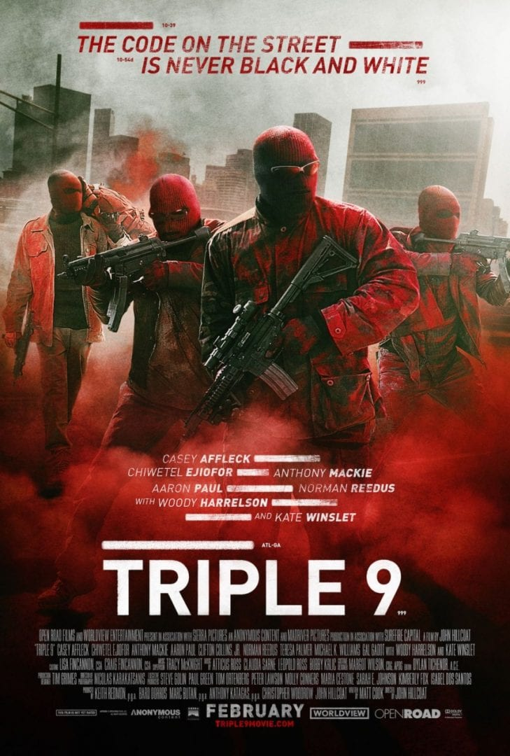 Triple 9 – Red Band Trailer