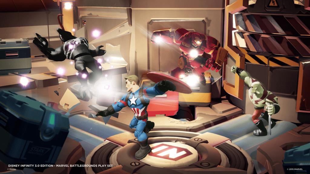 Disney Infinity 3.0 Edition – Marvel Battlegrounds Play Set Trailer για PS4, PS3!
