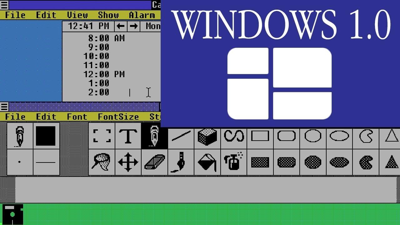 20 Νοεμβρίου 1985 – Microsoft 1.0