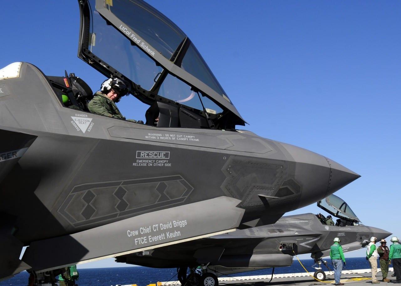 F-35B Vertical Landing & Short Takeoff – 'διαστημικό'…