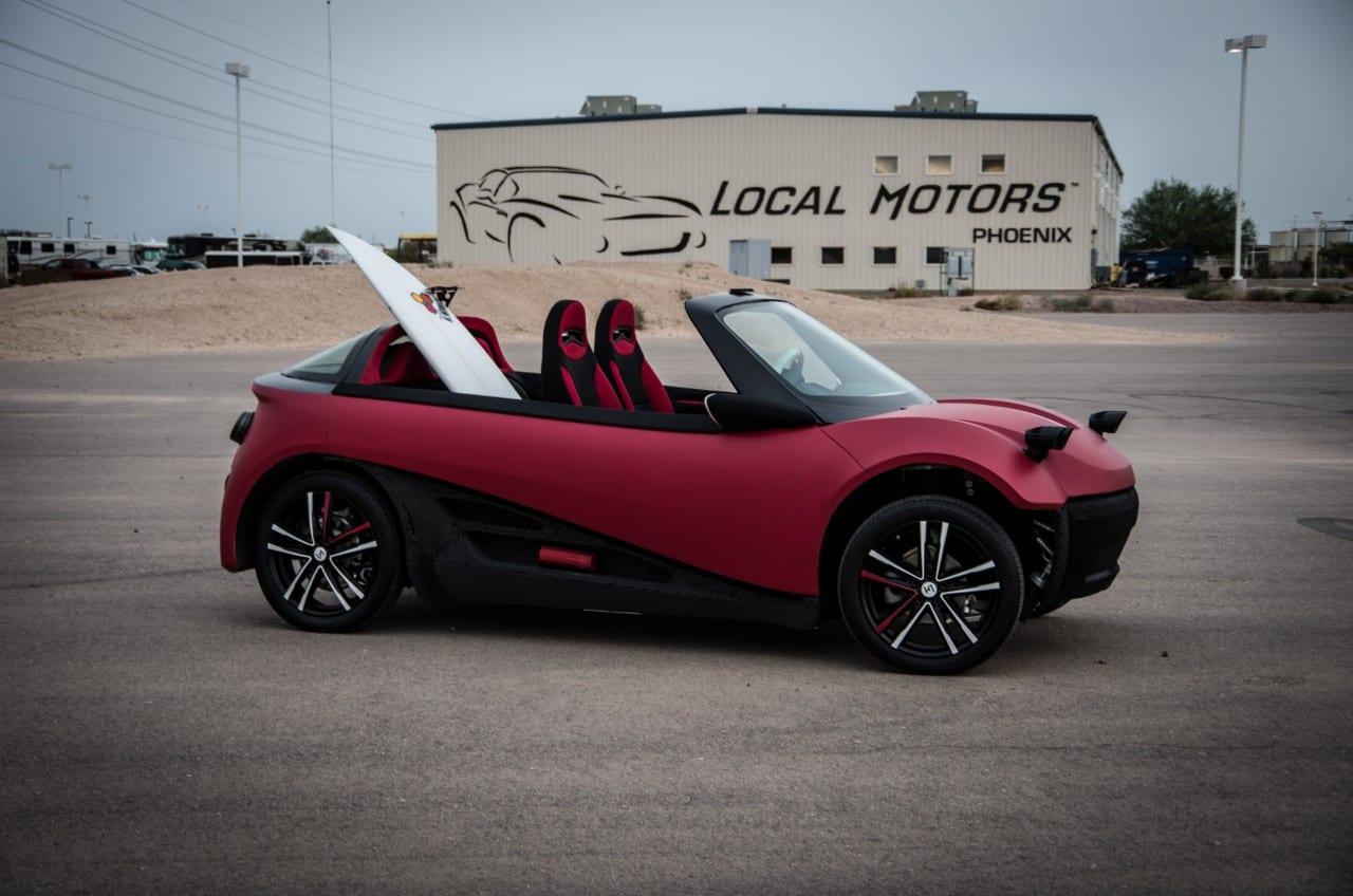 LM3D – Το επαναστατικό αυτοκίνητο που 'τυπώνεις'…