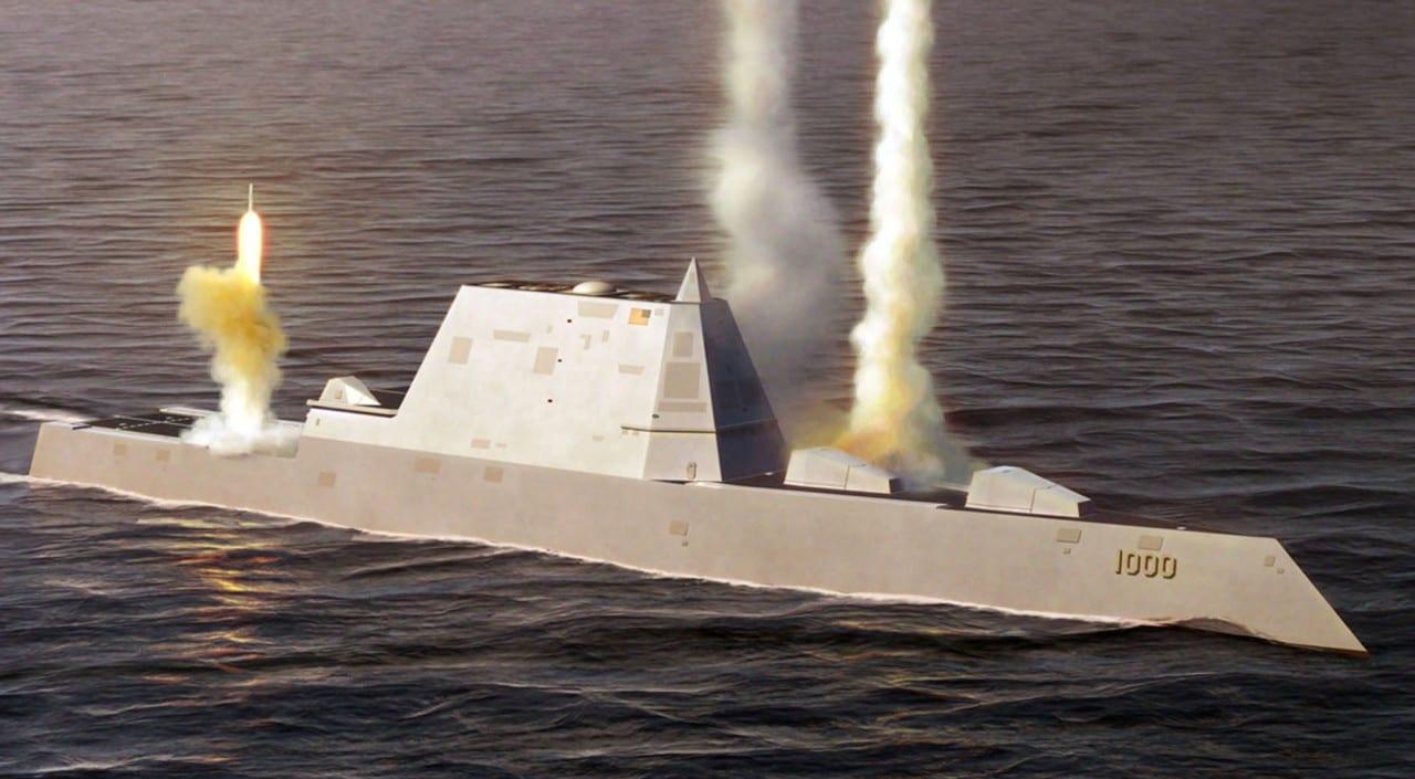 Το διαστημικό DDG-1000 Zumwalt Stealth Destroyer…