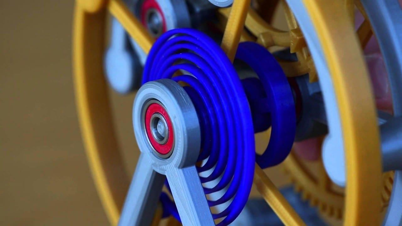 Christoph Laimer Tourbillon – το πρώτο πλήρως λειτουργικό 3D Printed ρολόϊ!