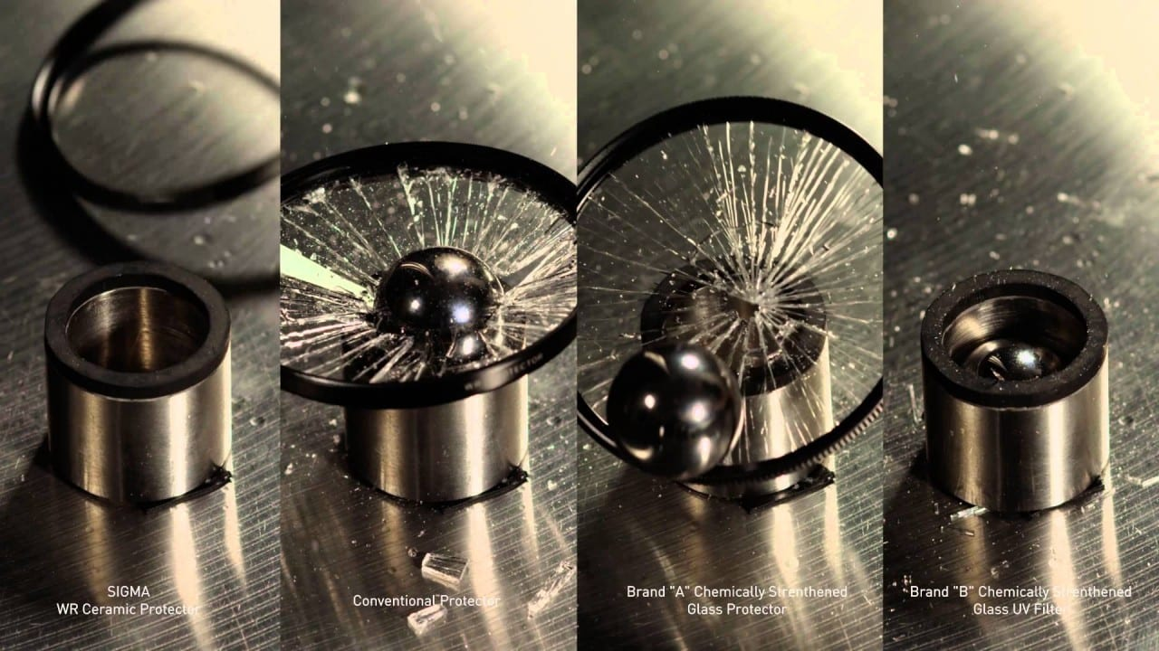 Sigma WR Ceramic Protector – Drop Ball Test