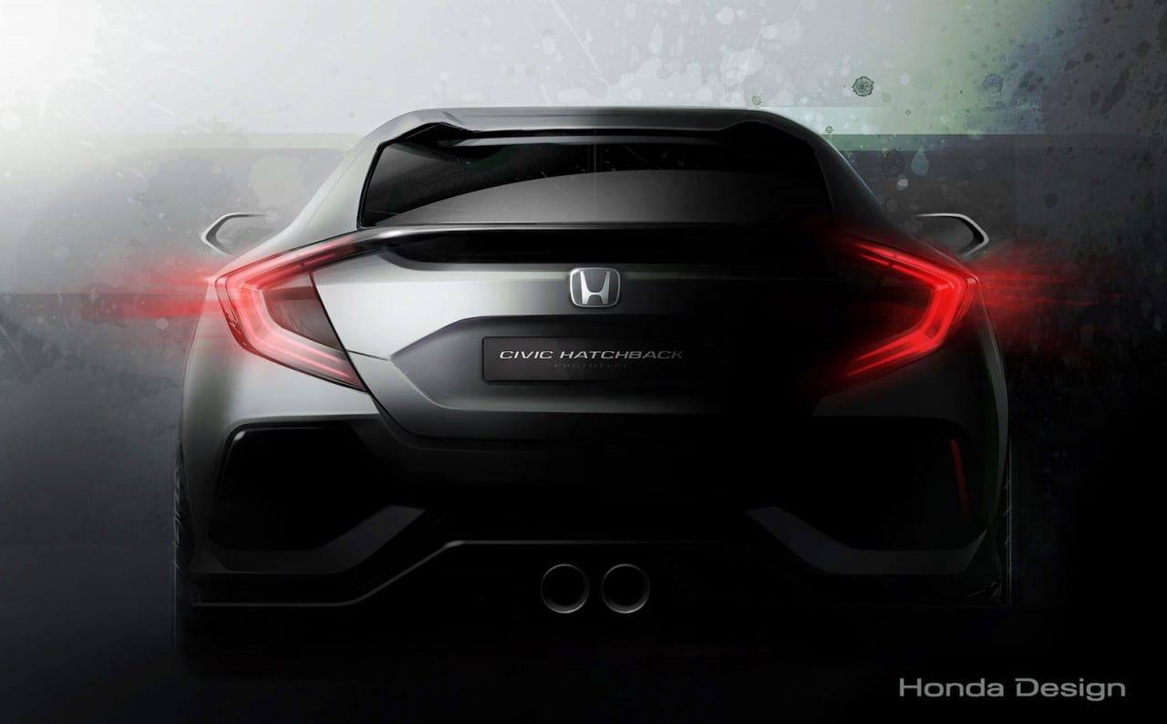 Honda 2017 Civic Hatchback Prototype