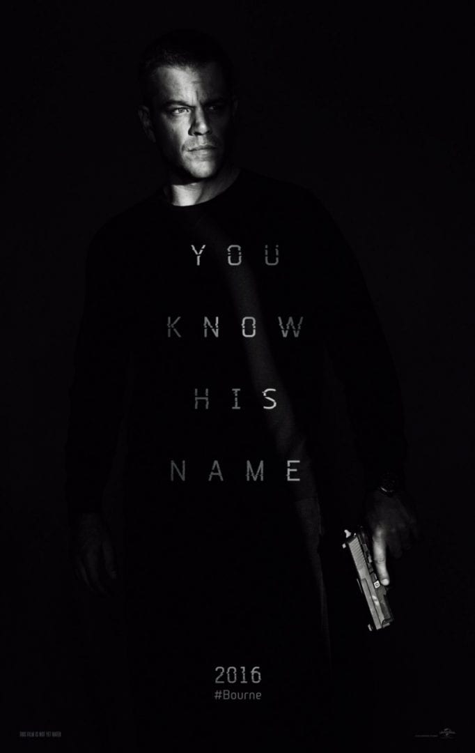 Super Bowl TV Spot – Jason Bourne