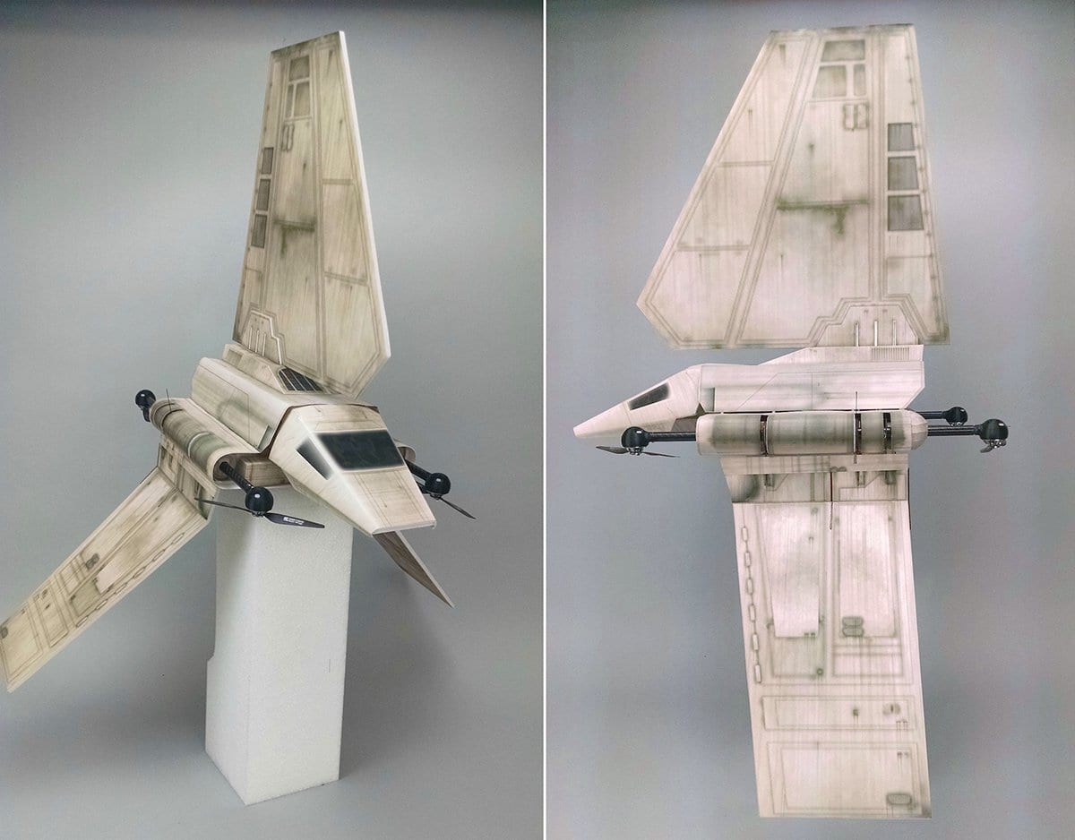 Imperial Shuttle Quadcopter