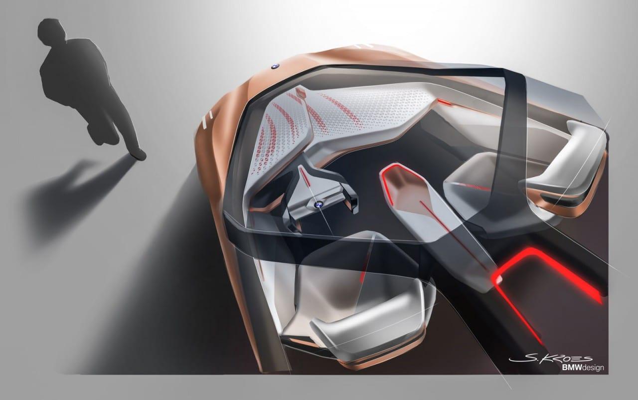 bmw vision next 100 concept design gadgetfreak not just tech. Black Bedroom Furniture Sets. Home Design Ideas