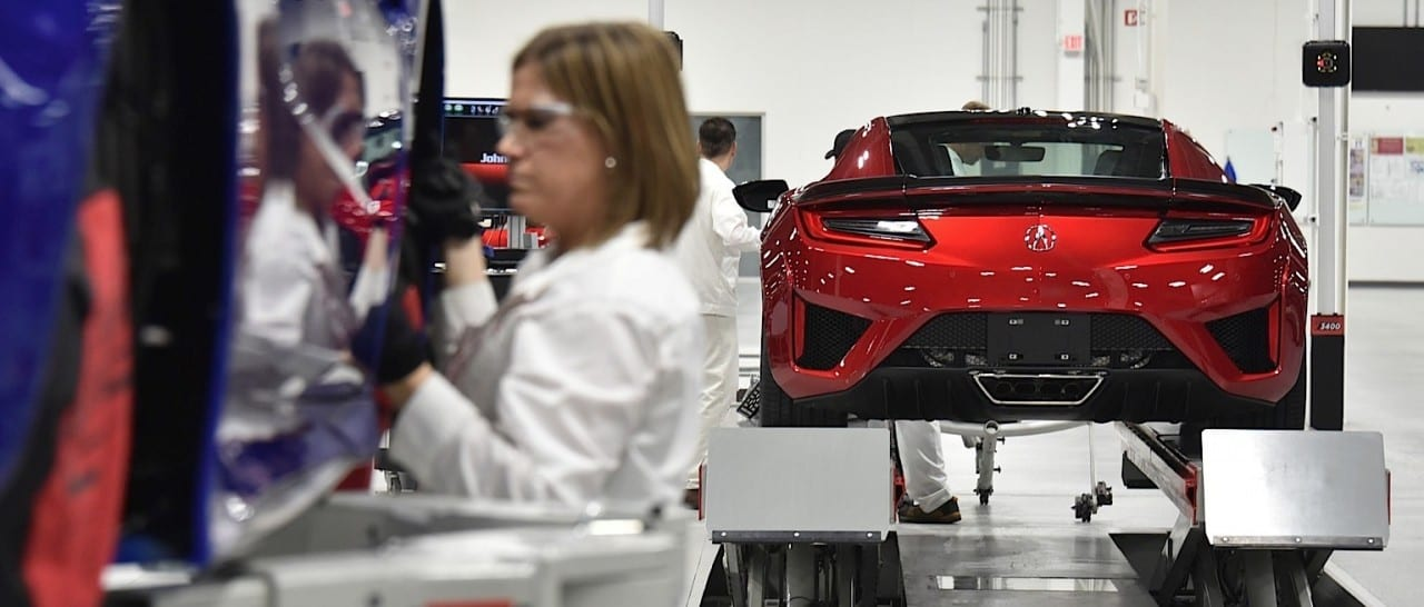 2017 Acura NSX – The Making of