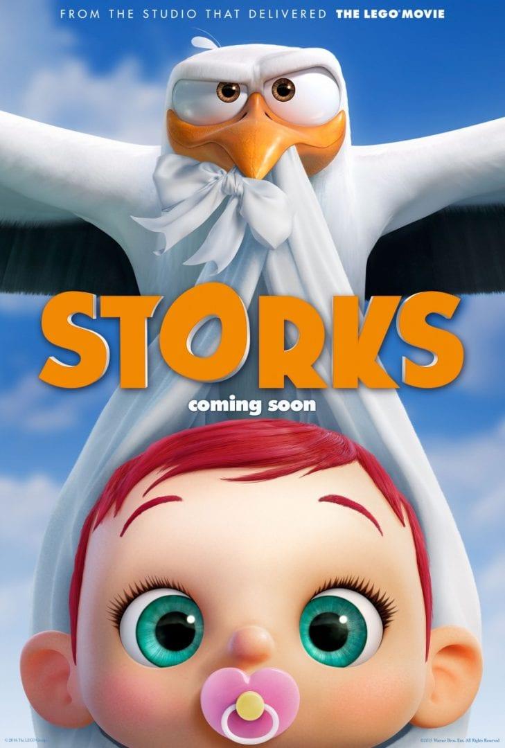 Storks Official Trailer #1