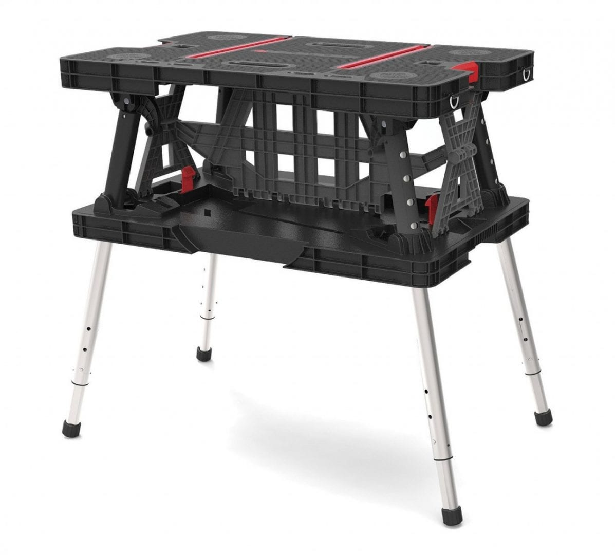 Keter adjustable Folding Compact Table Work Station Solution6