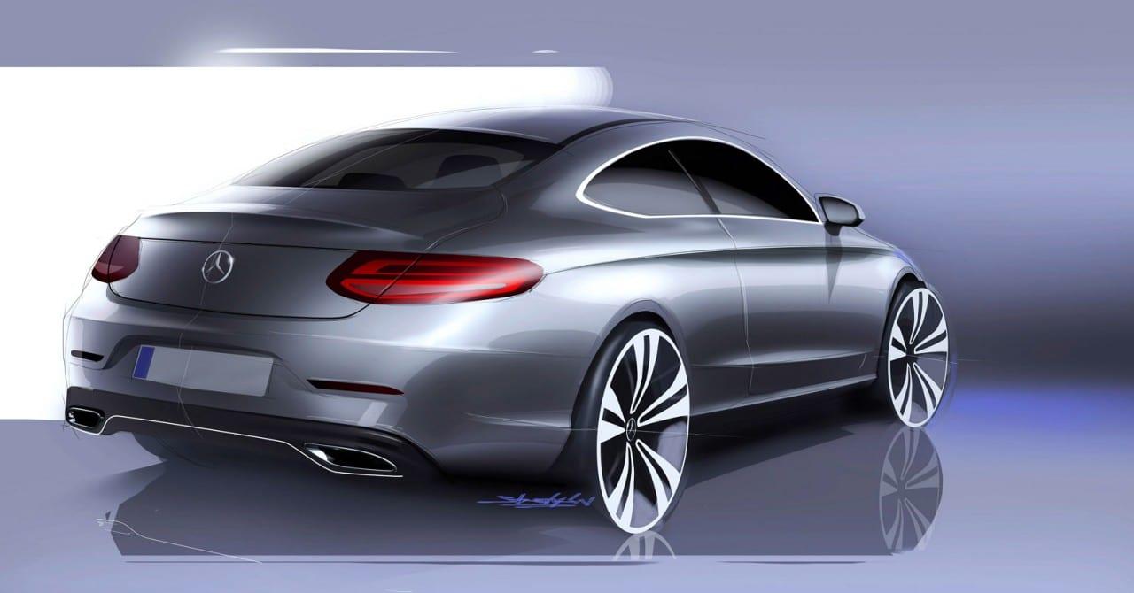 Mercedes-Benz C-Class Coupé Design Gallery - Gadgetfreak ...