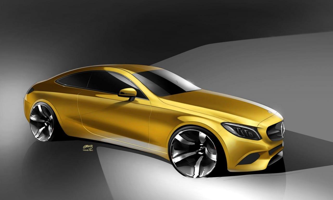 01-Mercedes-Benz-C-Class-Coupe-Design-Sketch-06