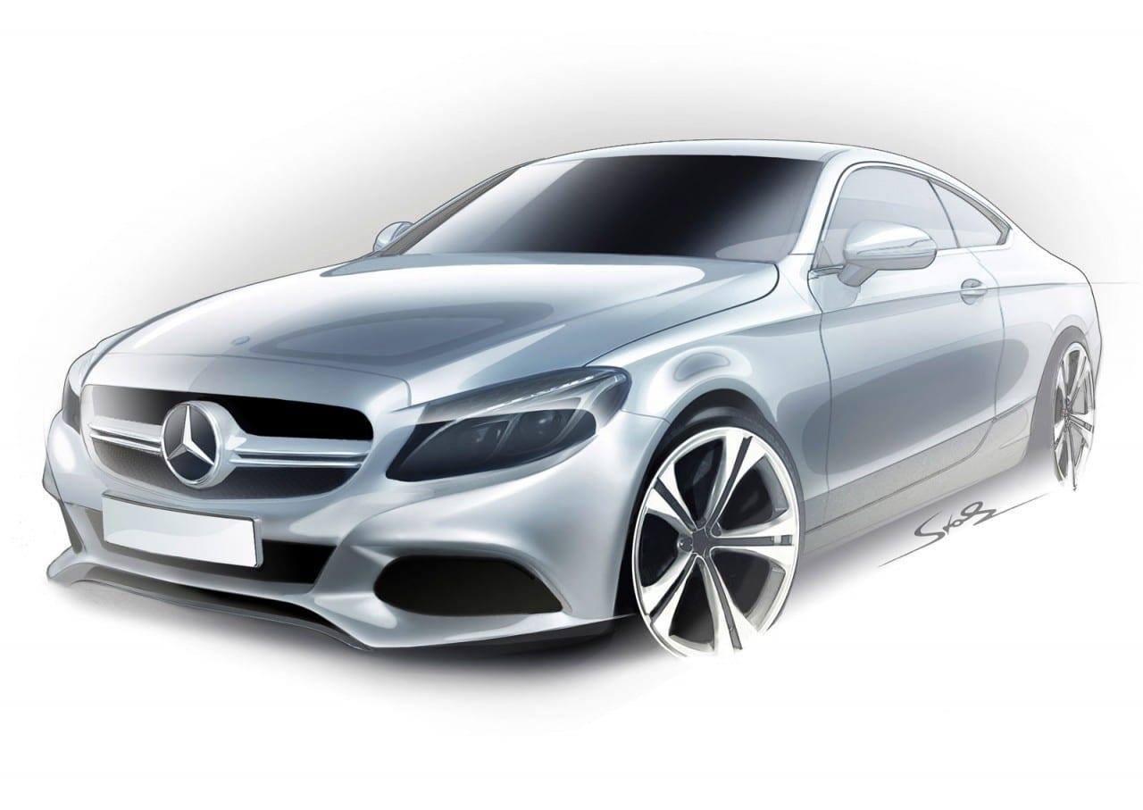 01-Mercedes-Benz-C-Class-Coupe-Design-Sketch-07