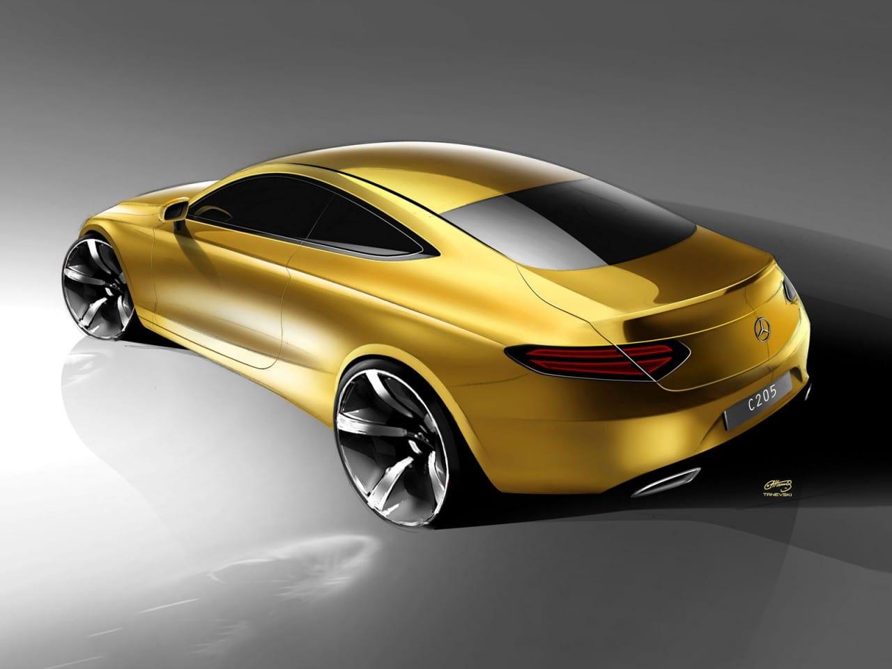 Mercedes-Benz C-Class Coupé Design Gallery