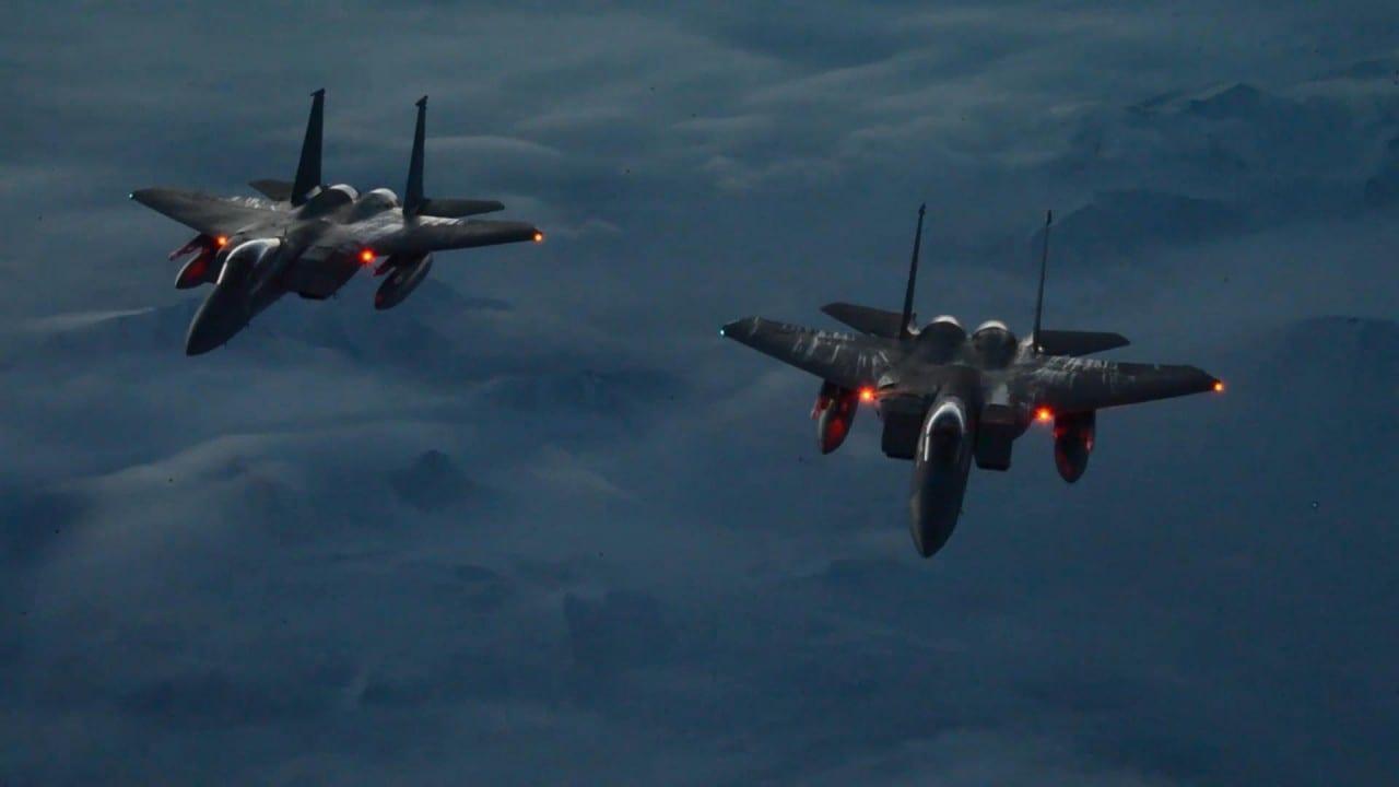 Vigilant Shield F 15 Eagles – Μαγευτικά νυχτερινά πλάνα