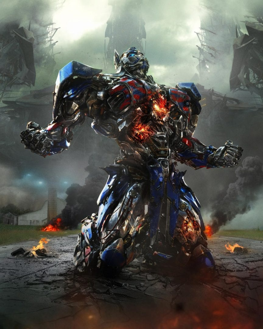 Optimus Prime in TRANSFORMERS: AGE OF EXTINCTION, in theaters 6/27/14.