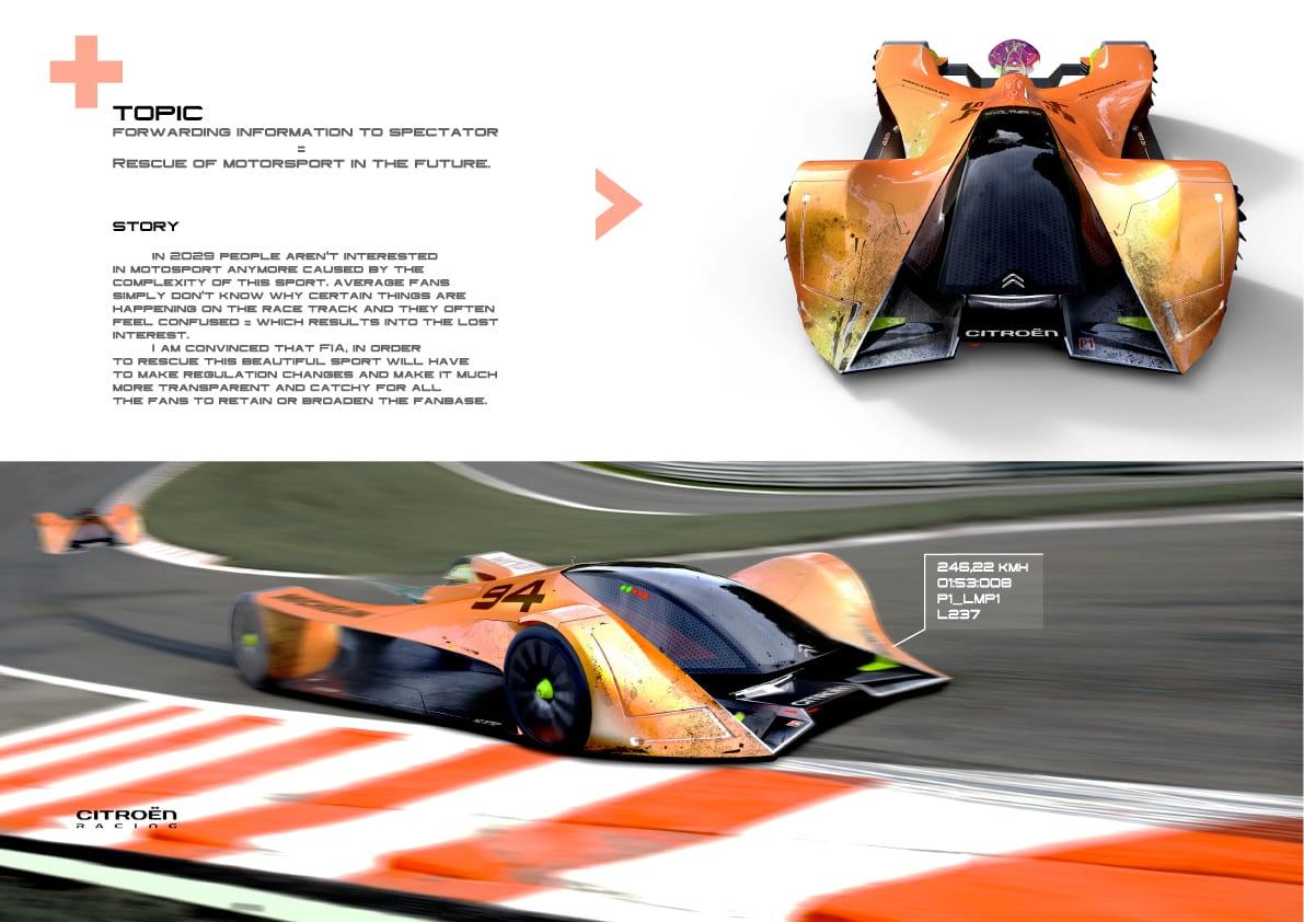 Michelin Design Challenge 2017 – Le Mans 2030 Concept