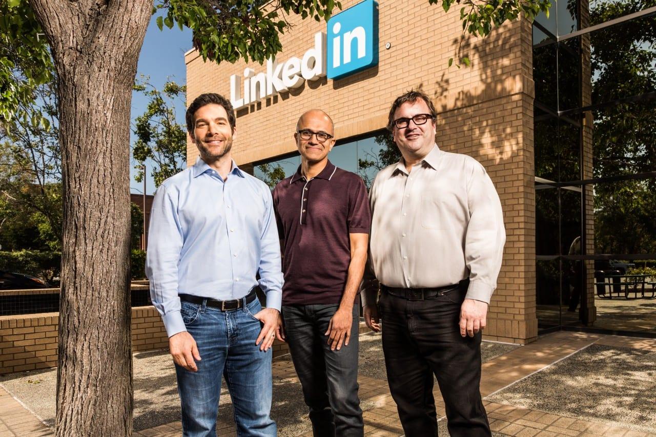 Η Microsoft αγοράζει το LinkedIn