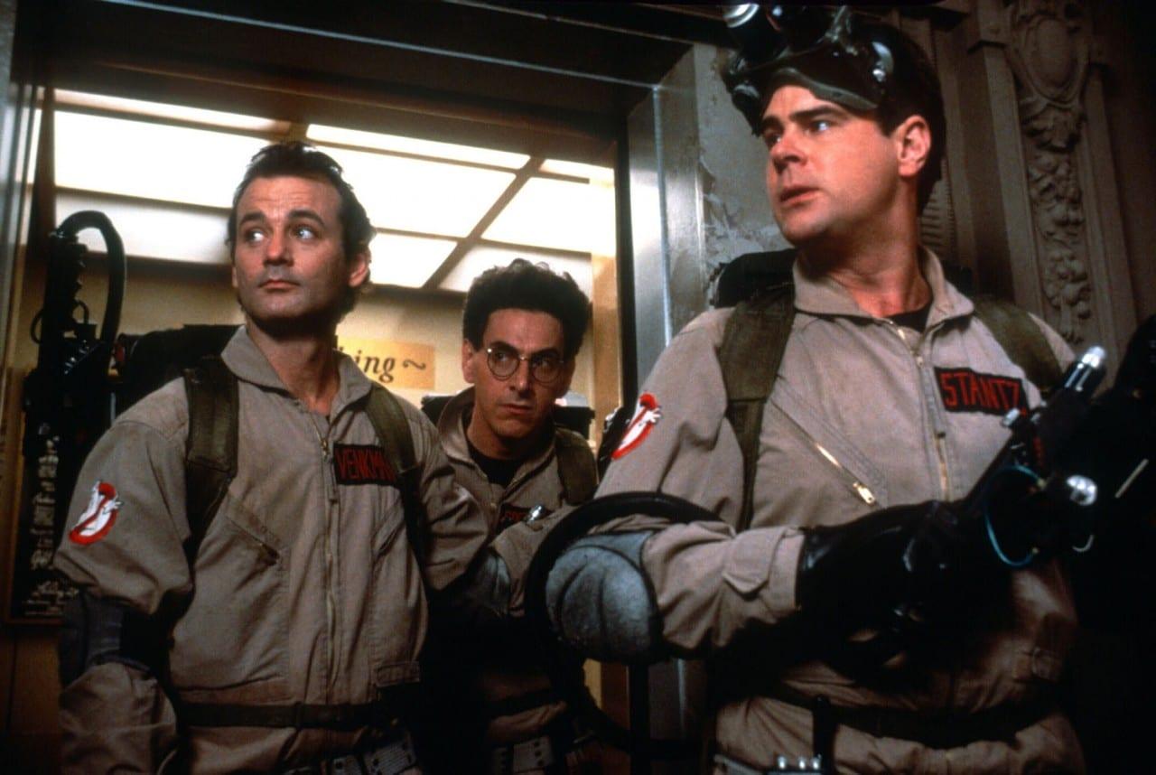 Ghost Busters (1984) Directed by Ivan Reitman Shown from left: Bill Murray (as Dr. Peter Venkman), Dan Aykroyd (as Dr. Raymond Stantz), Ernie Hudson (as Winston Zeddmore)