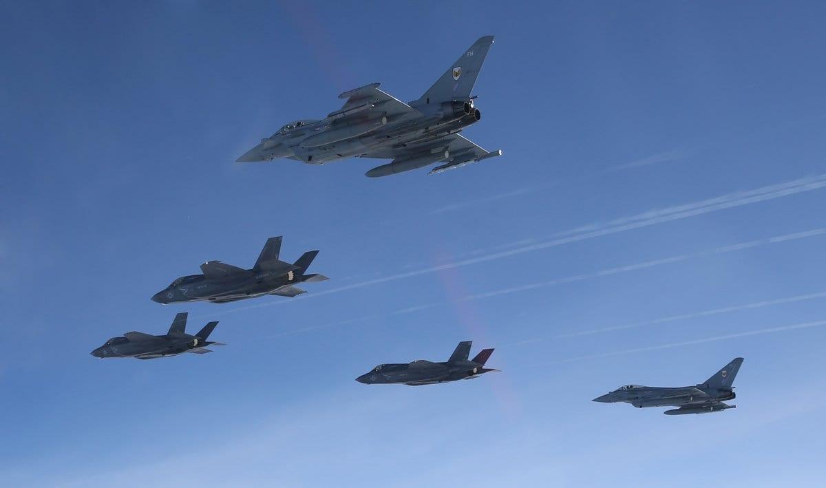 F-35B – Υπερατλαντική πτήση και άφιξη στη Βρετανία