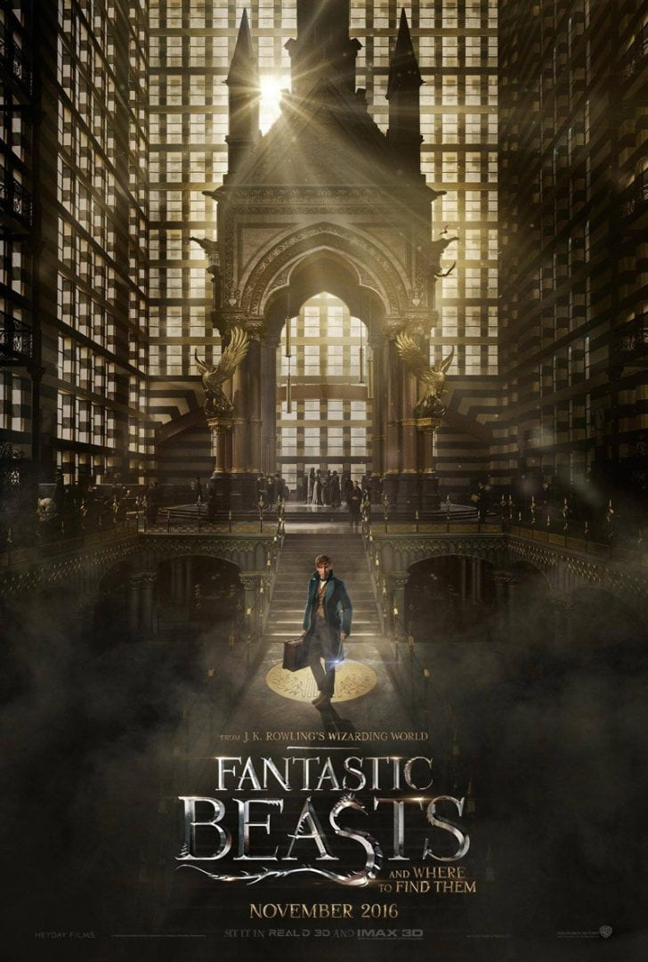 Fantastic Beasts and Where to Find Them – Official Comic-Con Trailer