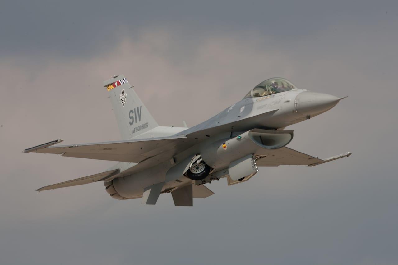 F-16 Fighting Falcon Mini-Demo