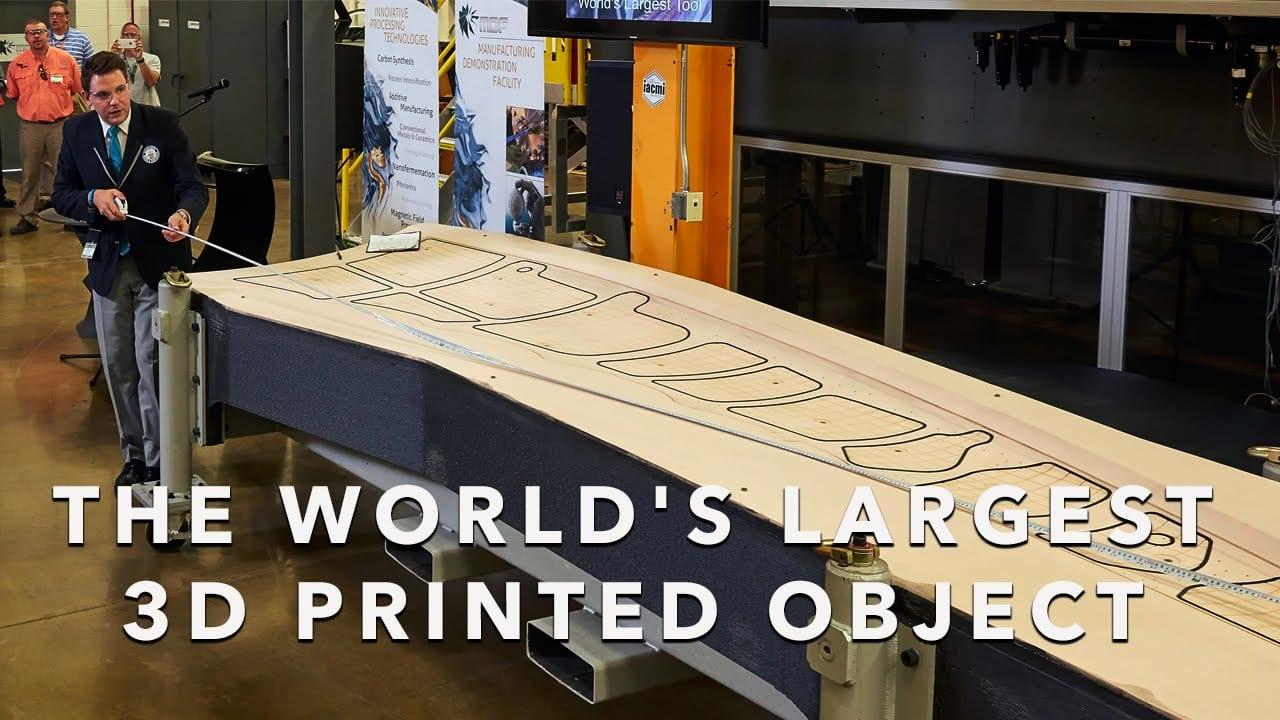 Boeing – Τεχνολογία κατασκευής αεροσκαφών 3D Print για Guinness