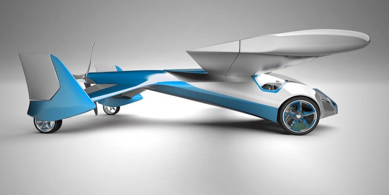 Ιπτάμενο Αυτοκίνητο AeroMobil