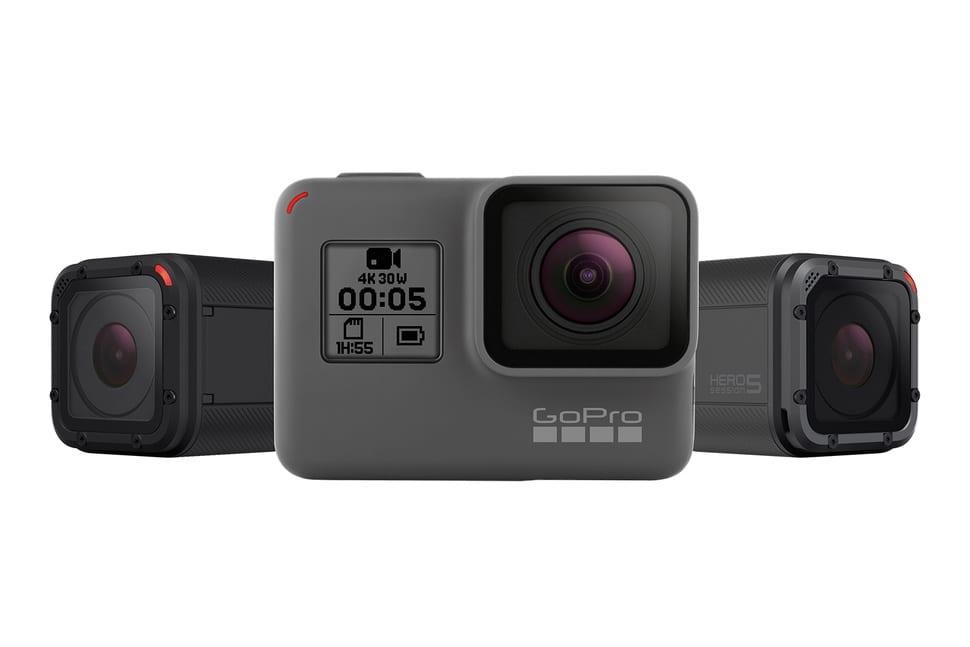 Τα νέα GoPro HERO5 Session + GoPro HERO5 Black