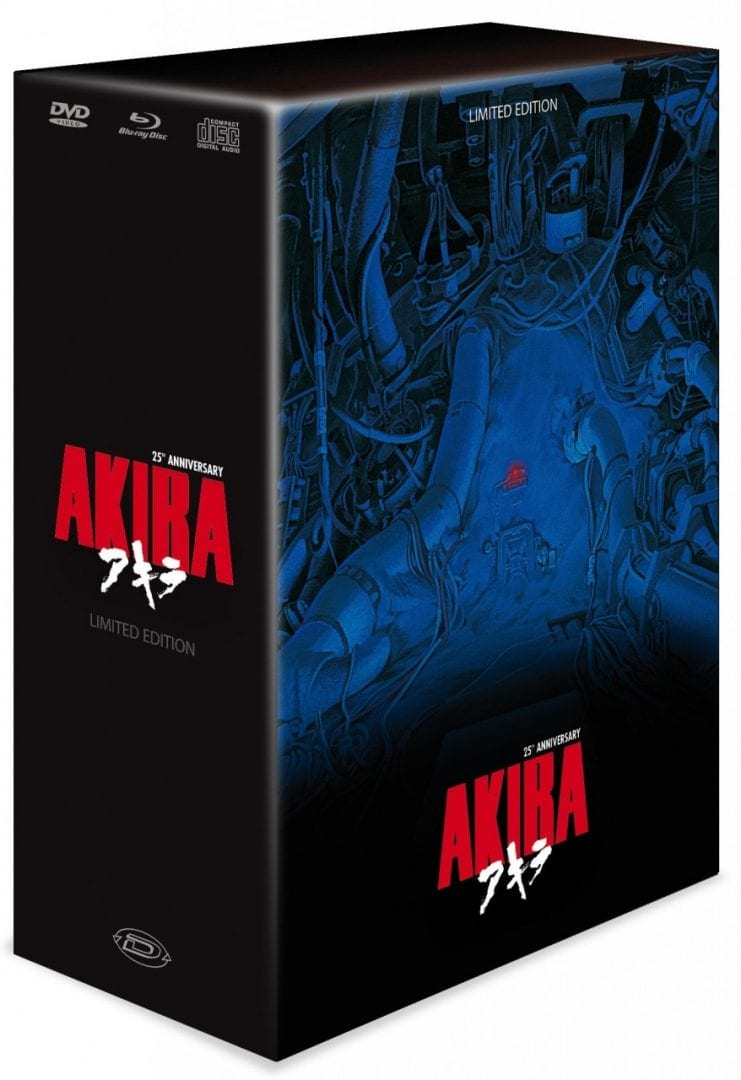 25th Anniversary Akira Blu-ray