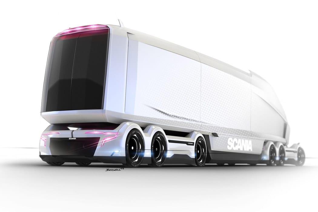 Quantum Levitate – το Futuristic φορτηγό του 2050
