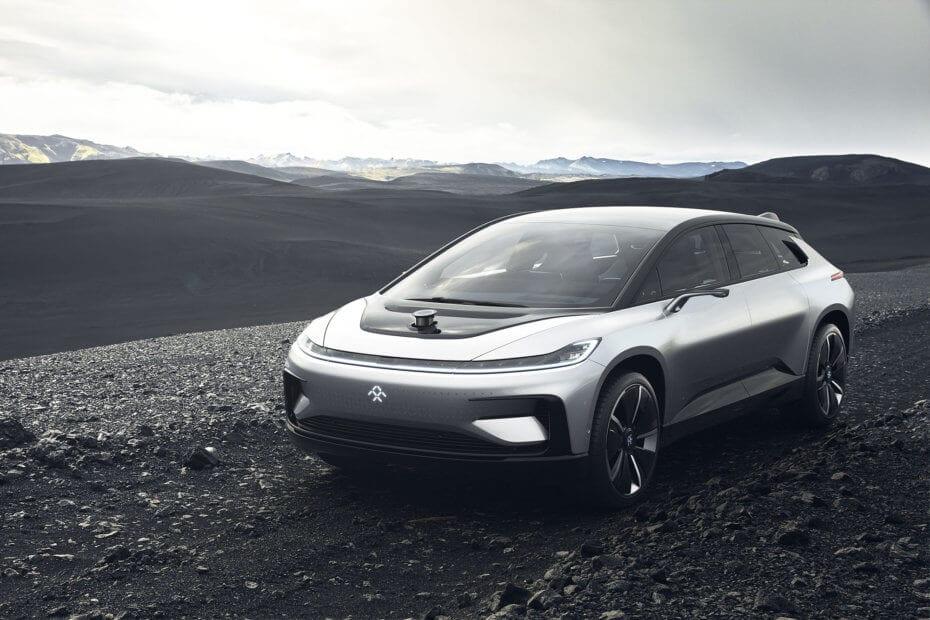 CES 2017 – Faraday Future FF91