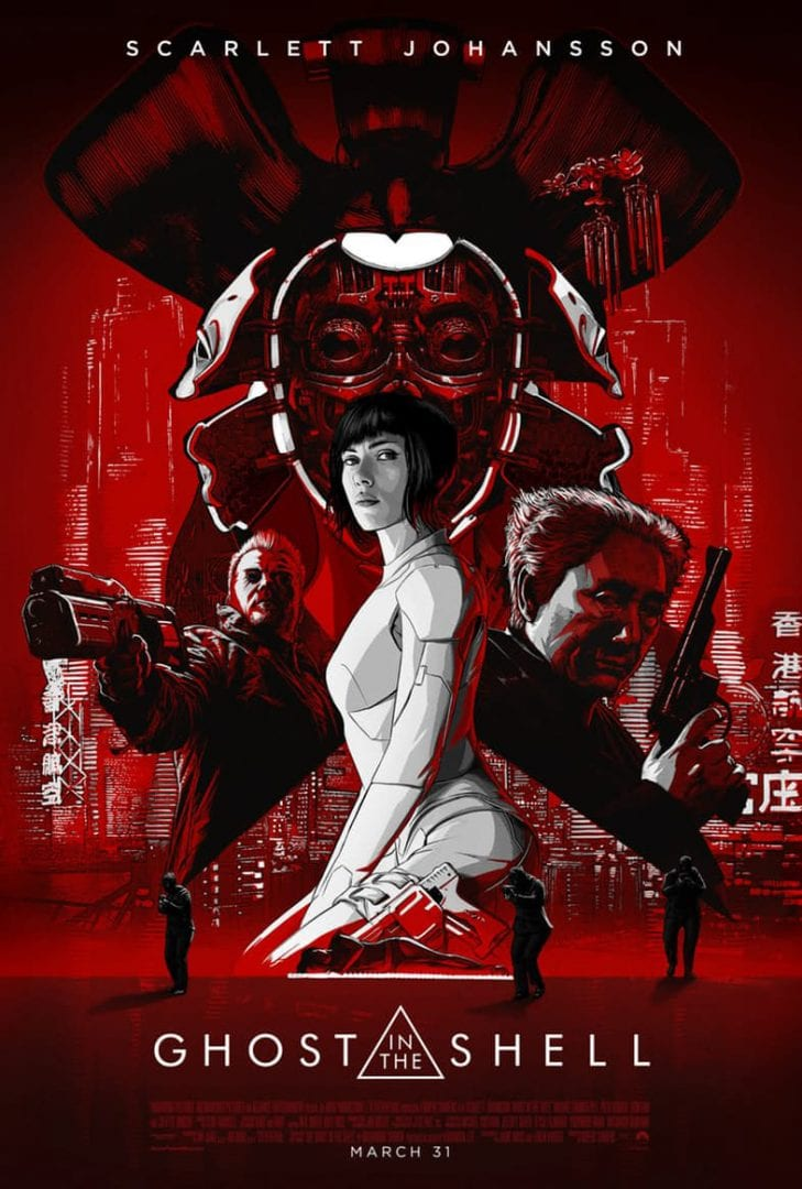 Ghost in the Shell – Super Bowl Spot Trailer