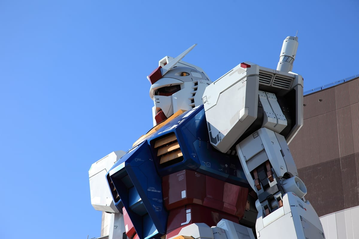 Life Size GUNDAM Statue – The Last Days