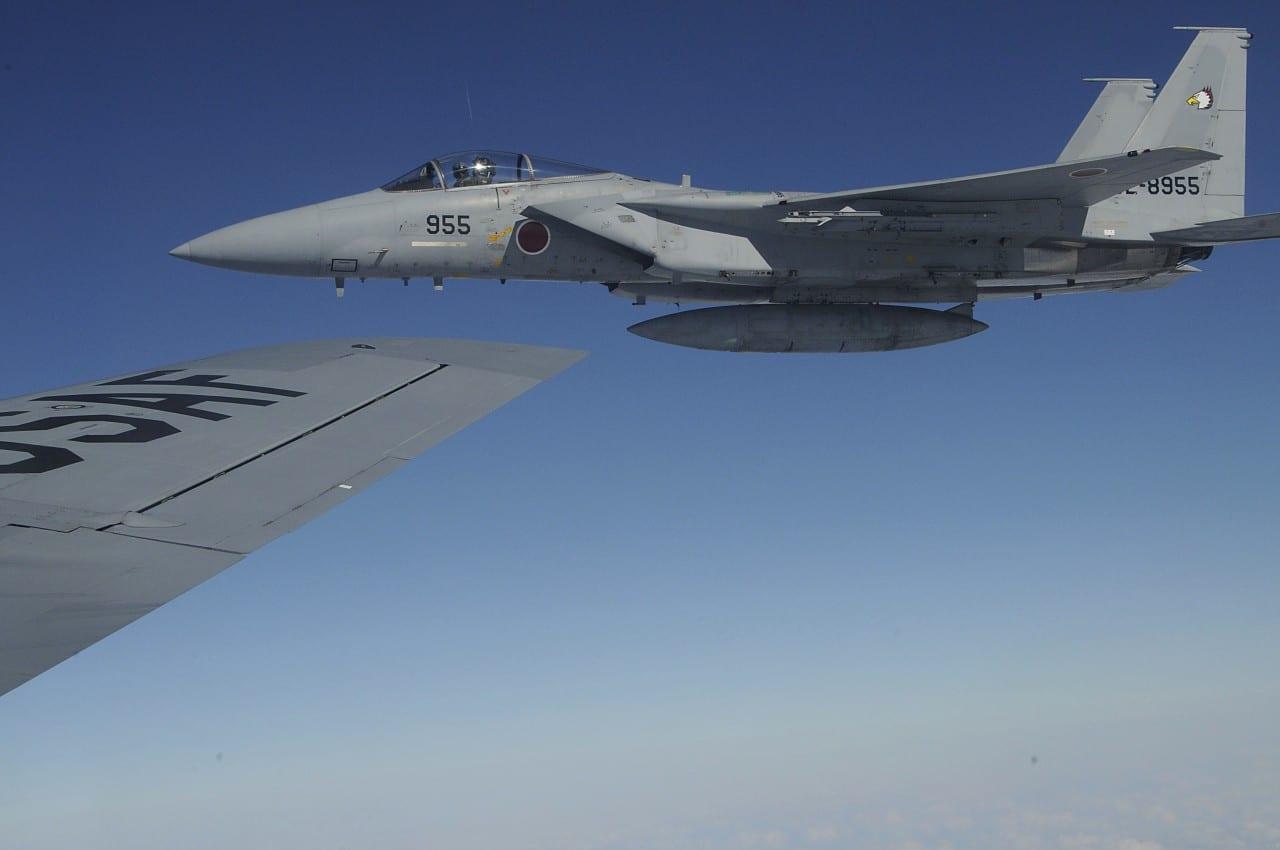 Καύσιμα στα σύννεφα σε ιαπωνικά F-15J