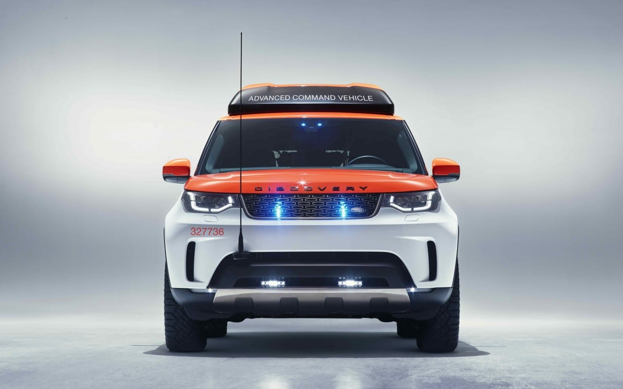 New Land Rover Discovery – Project Hero