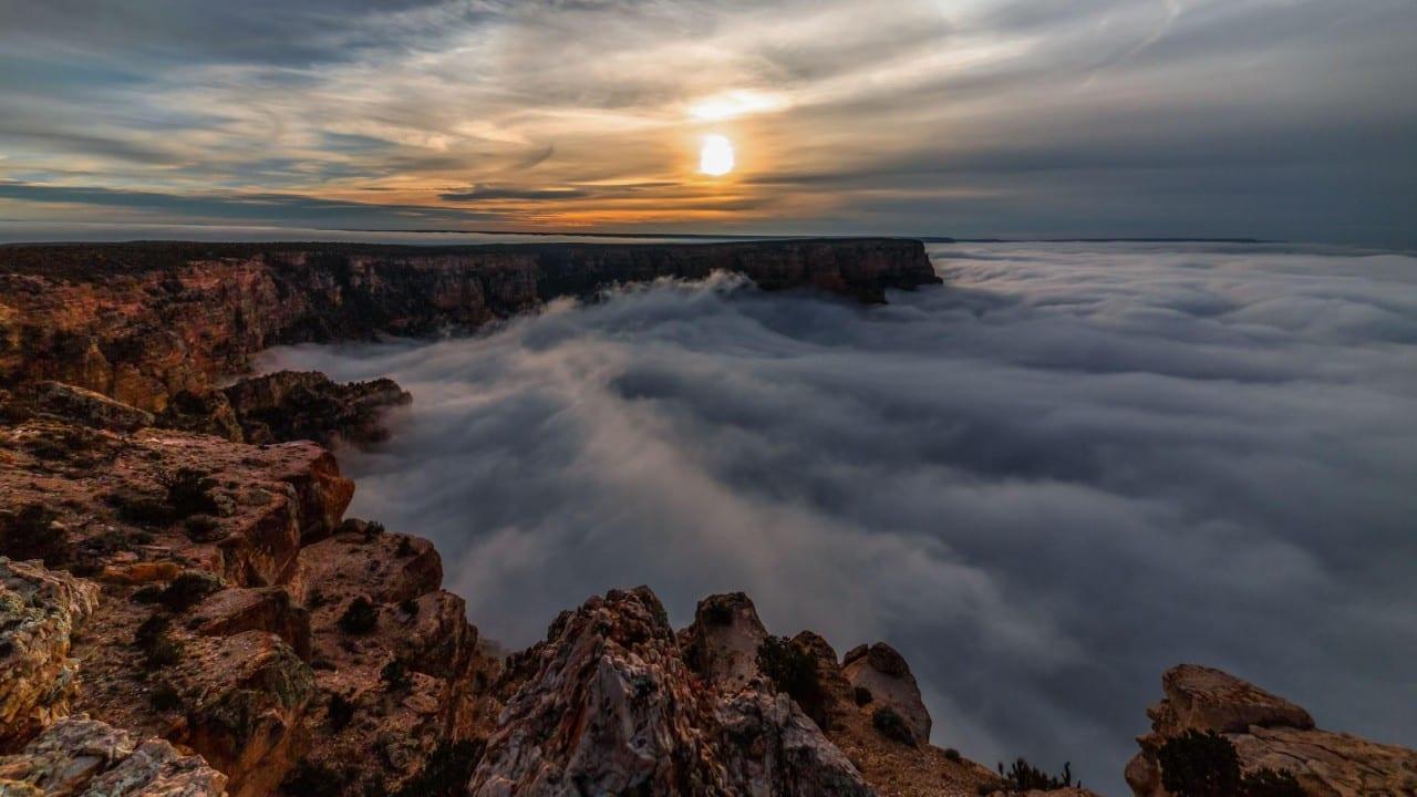 /Skī'glō'/ – Ανεπανάλληπτο Grand Canyon Timelapse