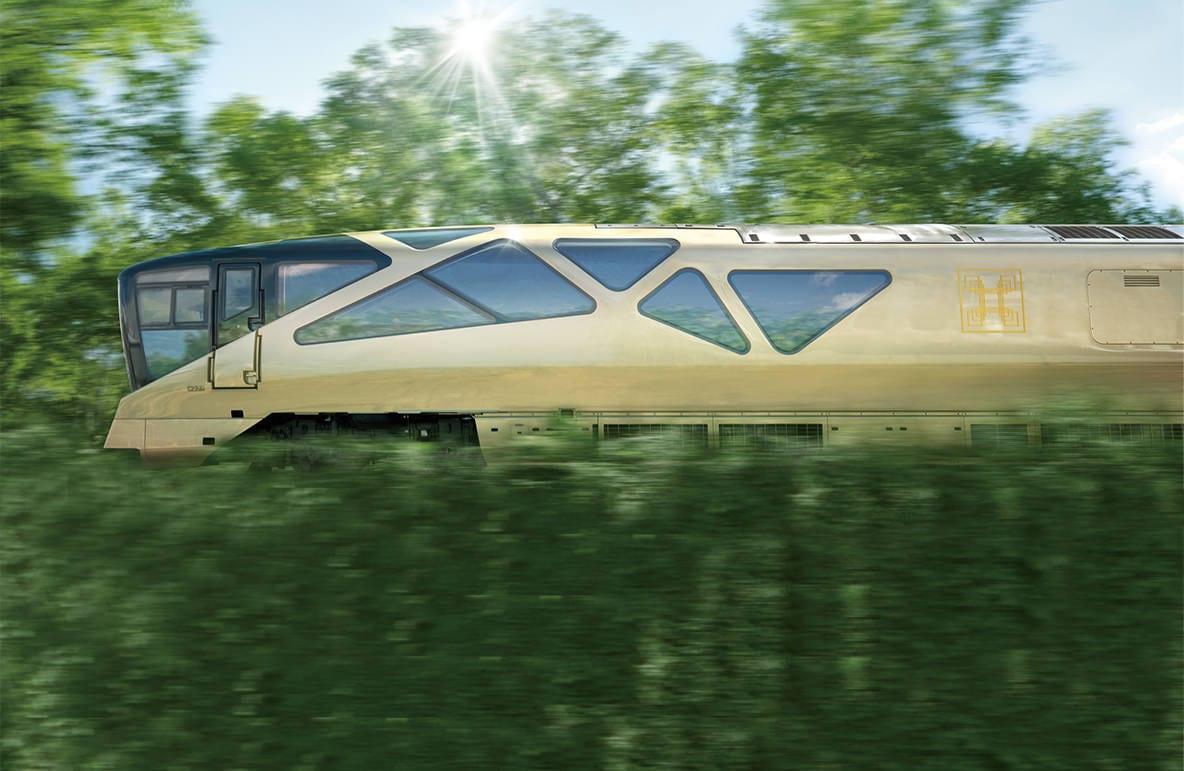 Το απίστευτο τρένο Shiki-Shima