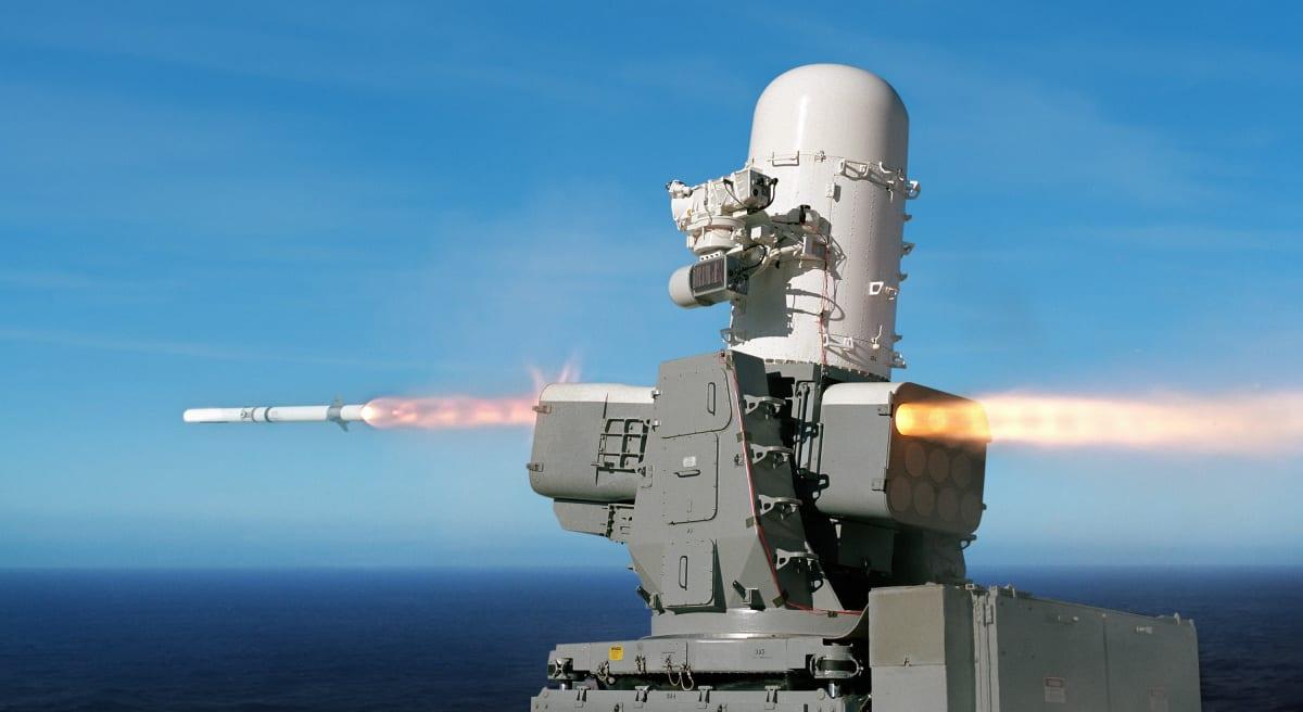 Το 'διαστημικό' Supersonic SeaRAM Anti-Ship Missile Defense System