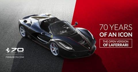 Ferrari Cavalcade – 70 Years Celebrations