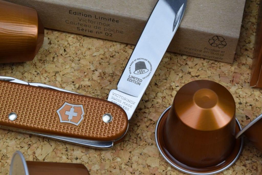 Victorinox Swiss Army Pioneer Nespresso Knife