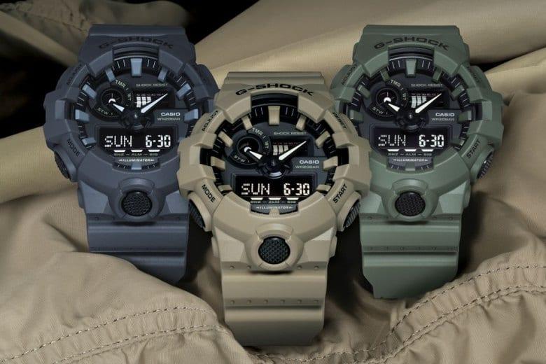 G-Shock GA700 Utility Color Collection