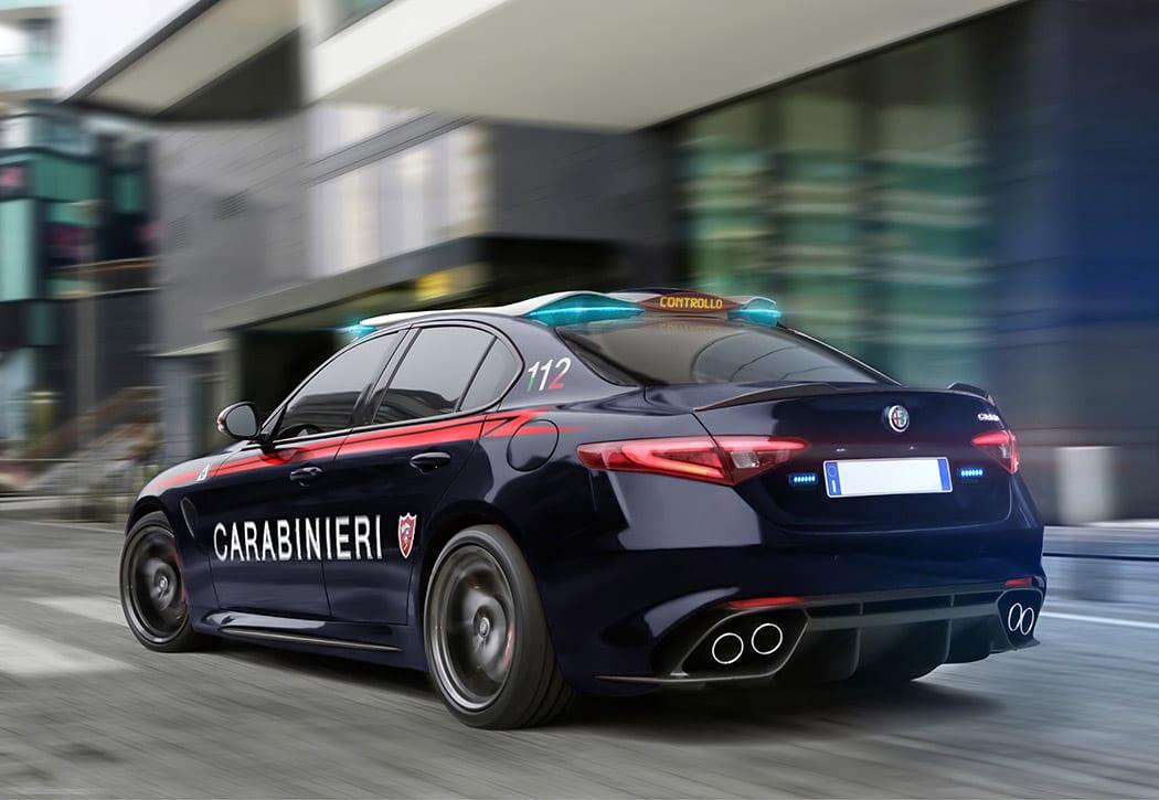 Alfa Romeo Giulias Carabinieri Space Light