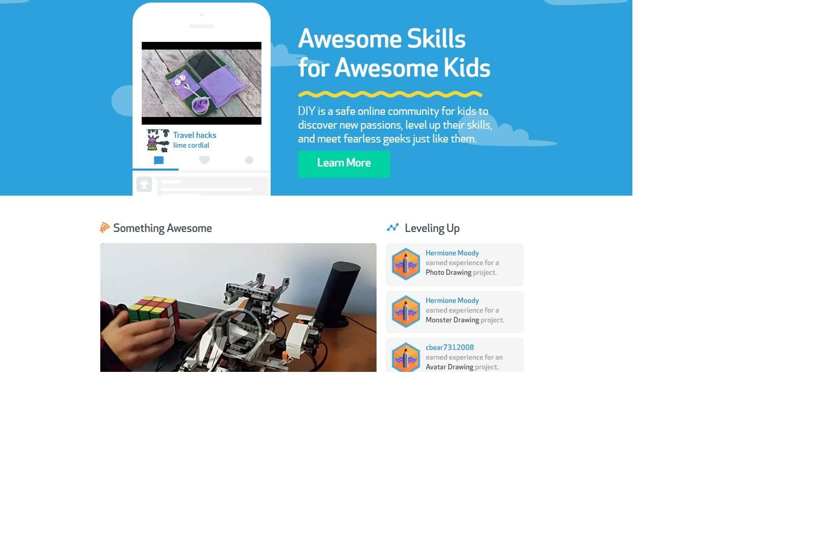 Το εκπληκτικό DIY Kid Skills Community για παιδιά