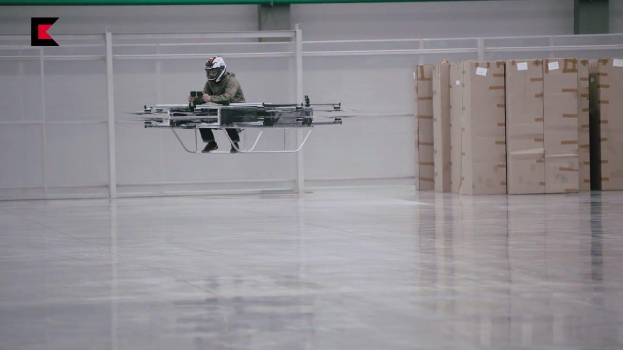 Ηλεκτρικό Ιπτάμενο Όχημα «Калашников»
