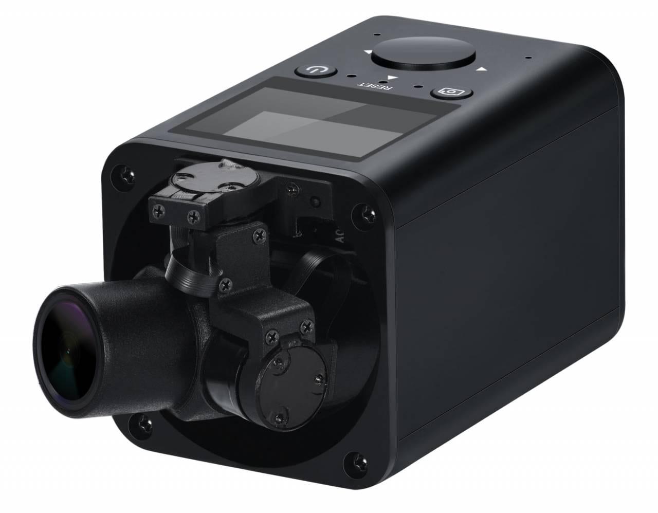 GimbalCam Self-Stabilizing Camera