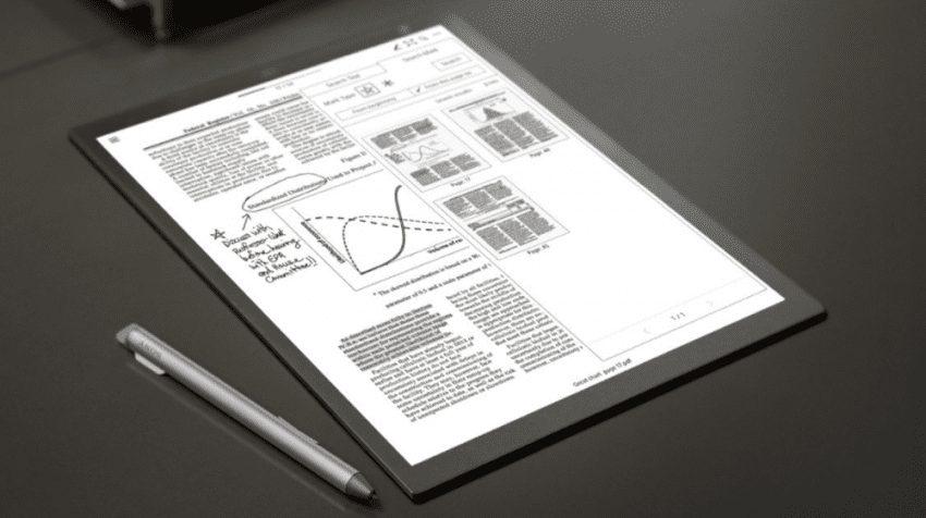 Remarkable Vs Sony Digital Paper DPT-RP1